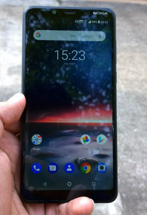 Nokia 3.1 Plus: дисплей