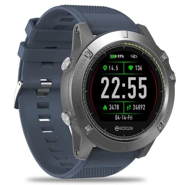 Умные GPS часы с тонометром и пульсометром