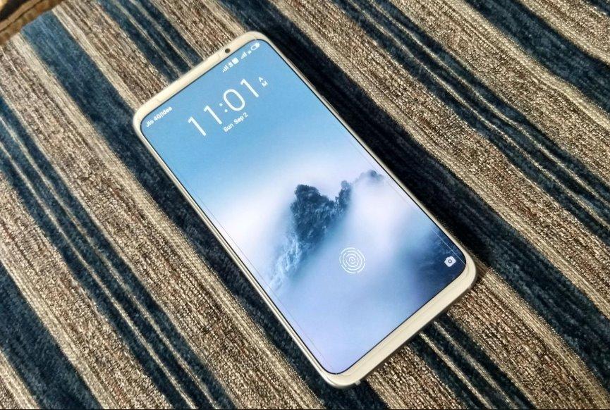 392853049c835 Компания Meizu провела презентацию своего нового флагманского смартфона  Meizu 16s, который примечателен в первую очередь своим дизайном.